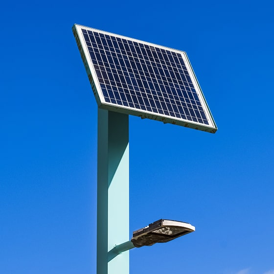 Energy efficiency for outdoor artificial lighting systems